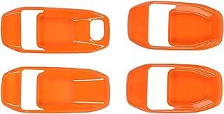 VICASKY 4Pcs Maçaneta Da Porta Do Carro Tampas Decorativas Door Handle Covers Trims Decoração Do Interior Do Carro