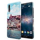 Welcome To Paradise Ibiza San Antonio Eivissa Tropical Chill Island Hard Thin Plastic Phone Case Cover For Huawei P20