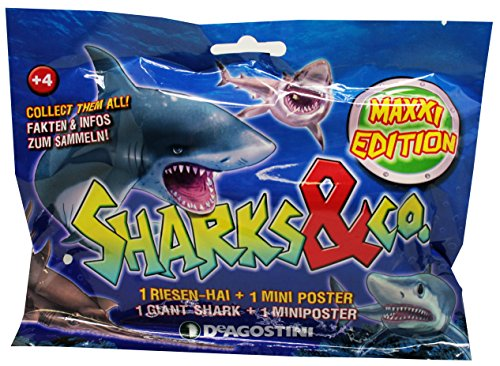 Sharks & Co Maxxi Edition - Figure da Collezione (1 Borsa)