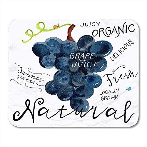 Muis Pads Druiven In S S Voor Boeren Markt Organische Voedsel Natuurlijke Product Wijn Kruidenthee Zaad Muis Pad Voor Notebooks Computers