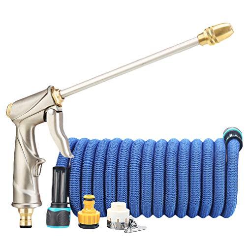 Xegood Tuyau d'arrosage Extensible Tuyau d'eau avec Pistolet Pulvérisateur d'arrosage Multifonctionnel pour l'irrigation de Jardin Lavage de Voiture