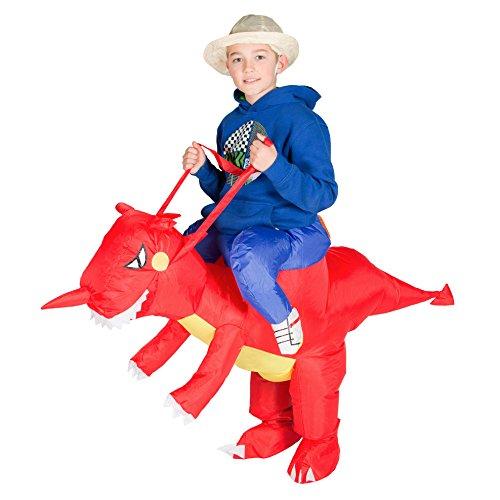 Bodysocks® Costume Gonfiabile da Drago per Bambini