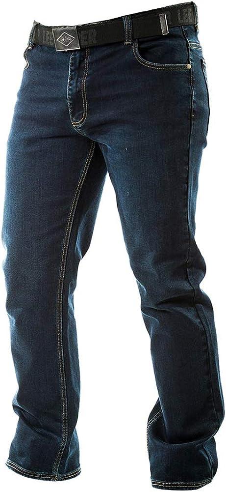 Lee Cooper Work Safety Stretch 5 Pocket Denim Jeans Vaquero Hombre