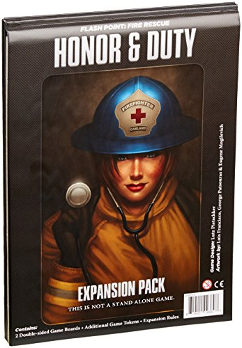 Indie IBG0FP07 Flash Point Fire Rescue Honor and Duty Jeu d'extension