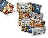 jameitop®8 x 50er Packungen XL Streichholzschachteln