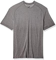 Puma Camiseta Evostripe Evoknit Tee de Manga Corta para Hombre