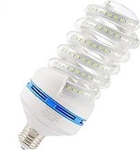 Spiral LED Light Bulb, 250 Watt Equivalent LED Bulb, 30W Led Corn Light Bulb, Daylight 6000K, 3050LM E26 / E27 Base, Not-Dimmable,for Photo Light,Warehouse,Garage Lighting, Barn, Patio, etc.