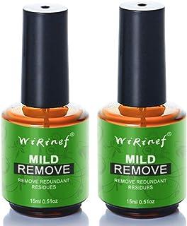 2Pcs Burst Magic Nail Polish Remover Easily & Quickly Removes Soak-Off Gel Polish Dont Hurt Nails Professional Non-Irr...