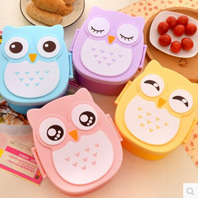 Top qualitity plastic Lunch Box Bento Box food container carton lancheira Dinnerware cutlery for kid japanese food box