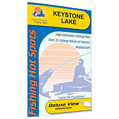 Keystone Lake Fishing Map