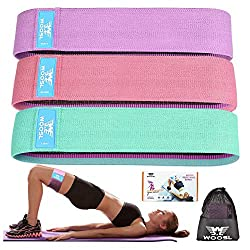 30%OFF Booty Bands 2019 Upgraded, Hip Resistance Bands Set Fabric Soft & Non Slip Design for Legs and Butt