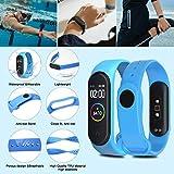 ivoler Bracelet mi Band 4/3, 20 Couleurs Bracelet De Rechange XIAOMI Mi Smart Band 3/4 (NFC) Sangle...