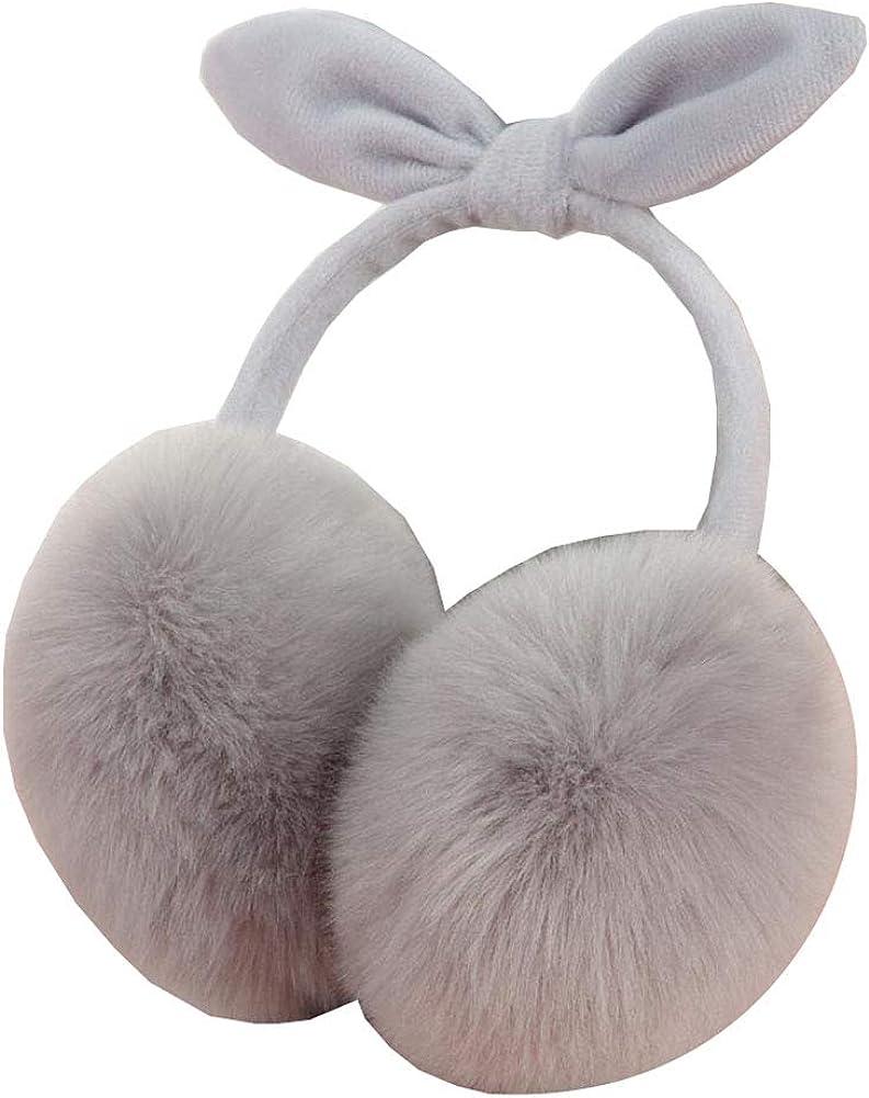 Cute Animal Soft Earmuffs Winter Warm Outdoor Ear Covers Headband Fur Ear warmer,#5