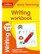 Writing Workbook Ages 3-5: Prepare for Preschool with Easy Home Learning
