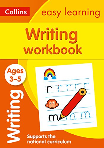 Writing Workbook Ages 3-5: Prepa...