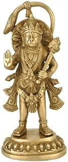 Gangesindia Abhaya Mudra Hanuman Statue (BS - 4413) Fine Quality