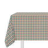 Tovaglia 140x240 cm scozzese, in cotone Multicolore