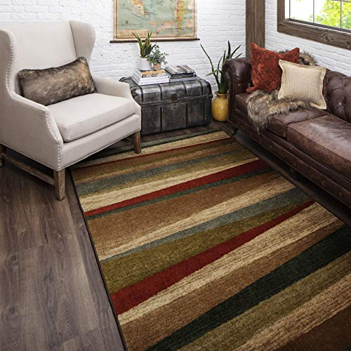 Mohawk Home Mayan Sunset Area Rug, Stylish Multicolor Accent Rug