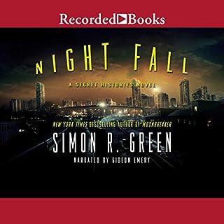 Night Fall audiobook cover art
