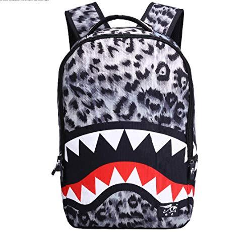 XYL Canvas Rugzak/Laptop Book Bag/Satchel Wandelen Bag/Canvas Schouder Daypack Middelbare school student schoudertas haai vrouwelijke tas rugzak