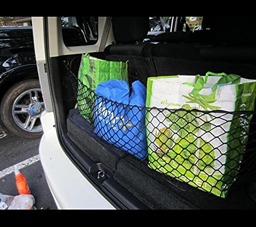 JessicaAlba Envelope Elastic Trunk Cargo Net Fitted for Buick Enclave 2008-2015 Chevy Traverse 2009-2015 and GMC Acadia 2007-2014