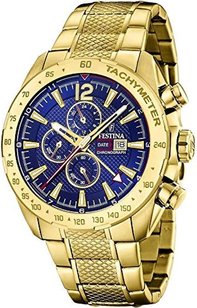 Festina orologio cronografo sportivo da uomo  in acciaio inossidabile F20441/2