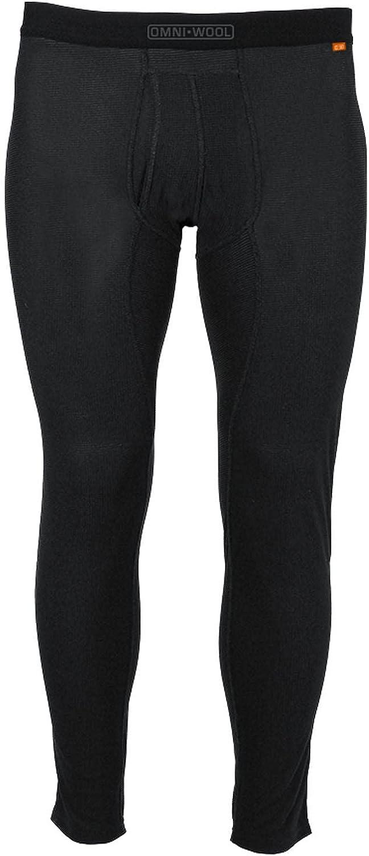 Omni-Wool Thermal Base Layer Men's Bottoms - S Black