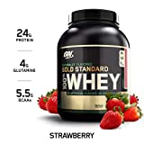 OPTIMUM NUTRITION GOLD STANDARD 100% Whey Protein Powder, Naturally Flavored...