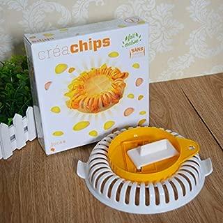 Other Fruit & Vegetable Tools - 1pc Microwave Oven Baked Potato Chips Cooker Maker Diy Bake Homemade Slicers Baking - Machine Slicers Metal Best Starfrit Spiral Slicer Restaurant Tool Electric