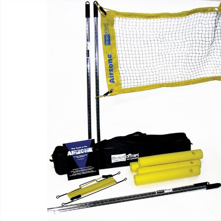 Airzone System - Tennis Target System & Training Aid   Portable & Lightweight   Adjusts up to 7 Ft   Quick Set-Up No Tools Needed   Weather-Resistant   Stop Hitting Balls Into the Net   Bag Included