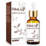 Under Eye Serum - Eye Serum for Dark Circle, Eye Puffiness, Eye Bag Treatment, Anti Aging/Wrinkle Eye Moisturizer with Hyaluronic Acid, Glycerin & Caffeine Eyes Serum for Men or Women …