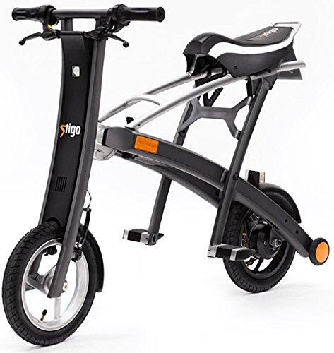 Stigo Bike 200W E-Scooter, schwarz/silber