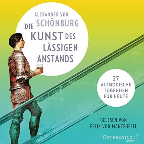 Die Kunst des lässigen Anstands audiobook cover art