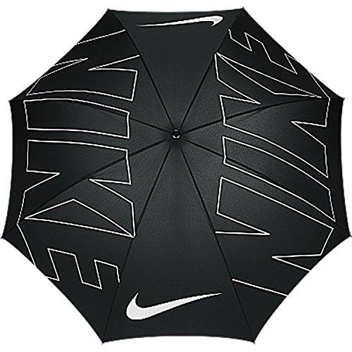 Nike 62 Windproof VIII Ombrello da Golf Uomo, Nero/Bianco, Unica