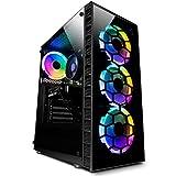 Vibox II-7 PC Gaming con un Juego Gratuito - Windows 10 - WiFi - Quad Core Ryzen Procesador - Nvidia GTX 1650 4Go Tarjeta Grafica - 16Go RAM - 240Go SSD - 1To Disco Duro