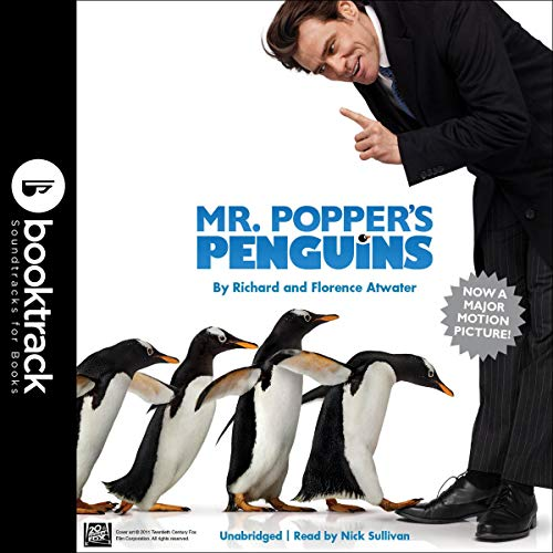 Mr. Popper's Penguins (Booktrack Edition) cover art