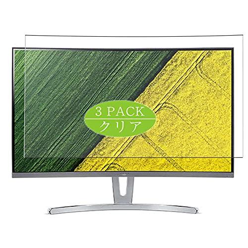 VacFun 3 Piezas Protector de Pantalla, compatible con Acer ED273 Bbmiix ED273Bbmiix 27' Display, Screen Protector Película Protectora (Not Cristal Templado Funda Carcasa)