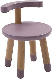 Skrivbordstol Barstolar Barns Justerbara Stol Tjockare Rygg I Massivt Trä Lärande Stol Pall Skrivstol (Färg: C) (Färg: C)