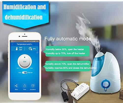 Docooler, telecomando Sonoff TH10 WiFi Smart