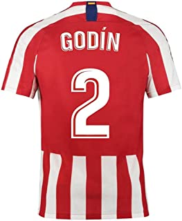 HJM Diego Godín #2 Men's Soccer Jersey -Breathable, Quick Drying