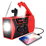 Best Solar Radios - 2020 Upgraded Emergency Solar Hand Crank Radio, RegeMoudal Review