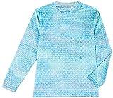 Reel Legends Little Boys Reel-Tec Rainbow Tarpon Tee Medium (5) Light Blue