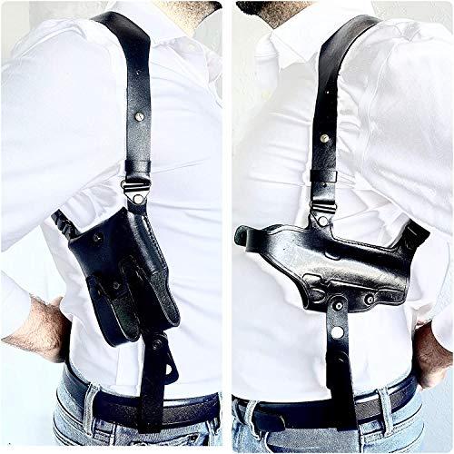 Aysesa Rig for Glock 19 Leather Shoulder Holster fits Many...