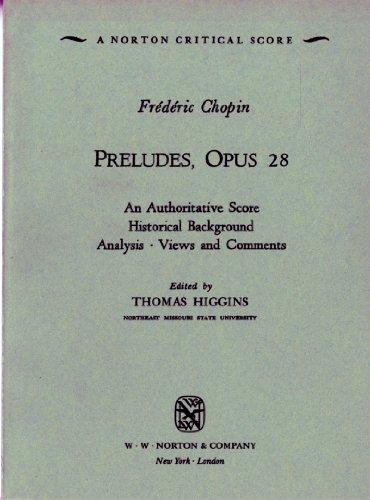 Preludes, Op. 28 (Norton Critical Scores)