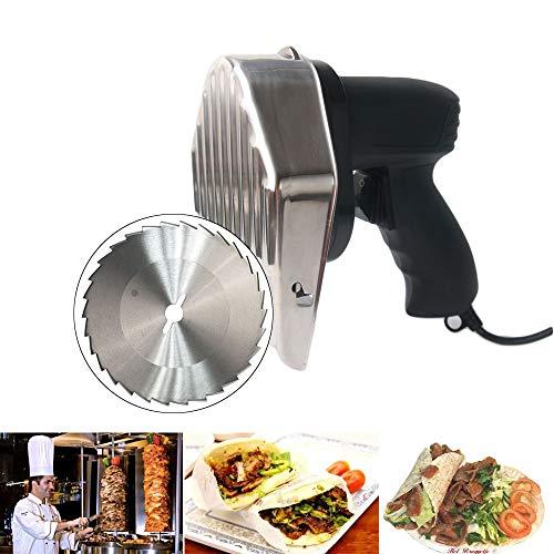 TRUSTME Machine Kebab Commercial Couteau à Kebab électrique 220V 50Hz Doner Couteau...