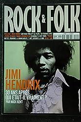 ROCK & FOLK 397 JIMI HENDRIX Nick Hornby LOUISE ATTAQUE Bruce SPRINGSTEEN PRINCE