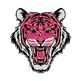 HENJIA Tier Tiger Cool Pink Cartoon Papier Aufkleber Kinderspielzeug Buch Dekorative...