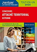 Concours Attaché territorial externe - Tout-en-un - 2020 (2020) de Francis Pian