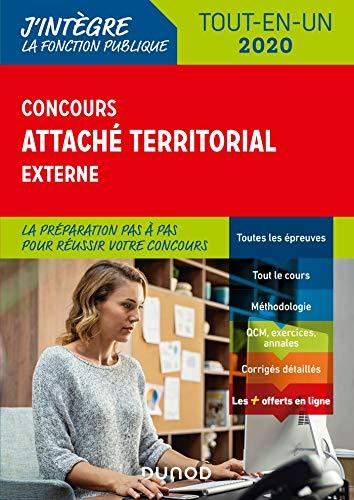 Concours Attaché territorial externe