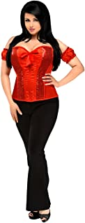 Daisy corsets Women's Top Drawer Sequin Molded Cup Corset